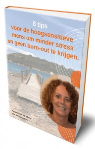 E-book 8 tips HSP- stress en burnout- The Power Inside